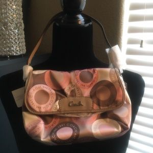 Coach Ashley Signature Purse NWT